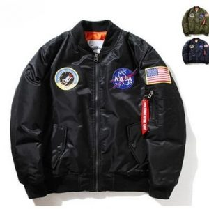 'NASA' Bomber Jacket