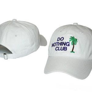 Do Nothing Club Cap